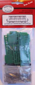Dundas Models DM64 Festiniog Style 4 Compartment Paneled Coach 009 Plastic Kit 1