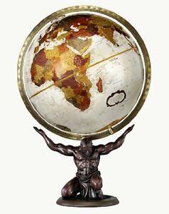 Replogle Atlas Desktop Globe, Bronze Metallic