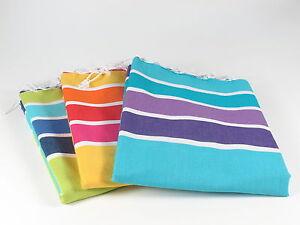 HARMONY Turkish Towel Peshtemal Sarong Bath SPA Beach Hammam Gym 100% cotton
