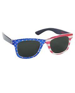 New OshKosh Boys Sunglasses July 4th Flag 4 + year NWT 100% UVA-UVB