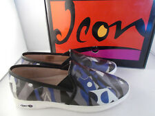 Icon Jessie Leather Loafer Untitled by Pablo Picasso Women's Sz 10 US New In Box