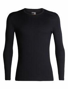 NWT $95 Icebreaker Merino 200 Oasis Long Sleeve Crewe Thermal Top Men's Size M