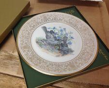 Birds Edward M Boehm Lenox Collector Plate 1978 Mockingbirds Mocking Box Usa