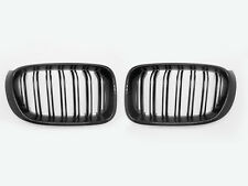 Dual Slat Front Grille Glossy Black Grill For BMW X3 F26 X4 F26 2014 2015 2016