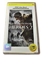 Medal of Honor Heroes 2 Sony PSP Game