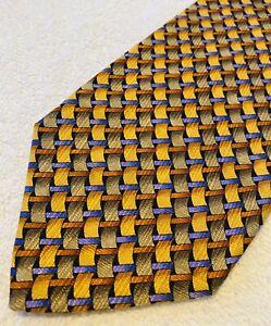 Brand New Stylish Corporate Tie By ROBERT TALBOTT - Extra Long