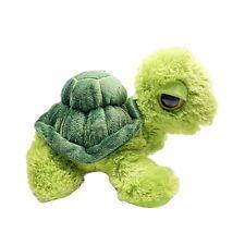 Aurora World Big Eyes Plush Turtle Green Stuffed Animal Toy 7in