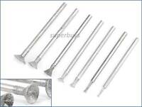 7pcs 1mm - 8mm Concave Disc Diamond Head Polishing Wheel Rotary Drill Bit Tool
