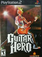 Guitar Hero Free Shipping Clean Tested Working Sony PlayStation 2 PS2