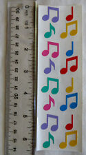 Mrs Grossman MUSIC NOTES, MULTI - Strip of Multi Colored Music Notes RETIRED