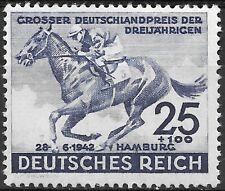 Germany's Third Reich  Mi# 814 MH Hamburg Derby 1942 *