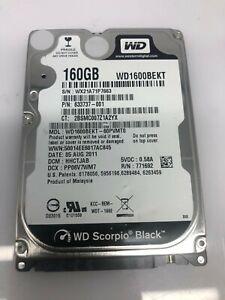 "Western Digital WD 1600 BEKT 160 Go 2.5"" disque dur SATA - 100%  5400T 9MM"