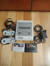 Super nintendo snes pal console 2 games star wars killer instinct 2 controllers