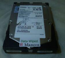 """18.2GB Compaq BF01864663 9T4006-023 3.5"""" FW:3B08 Ultra3 SCSI Hard Disk Drive"""