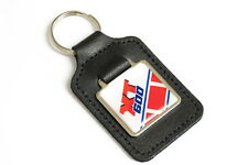 XT 600 Red/White Leather Keyring Tank Panel Decal Design Yamaha XT600 NOS Parts