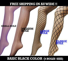 Womens Basic Pattern Black Color Fishnet Tights High Elastic Fast Shipping