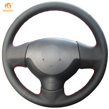 Black Artificial Leather Steering Wheel Cover for Mitsubishi Lancer EX Outlander