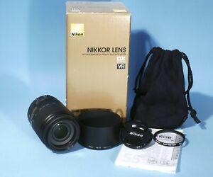 Nikon Nikkor AF-s DX VR 55-300mm f/4.5-5.6 G ED Zoom Lens * Boxed & Mint