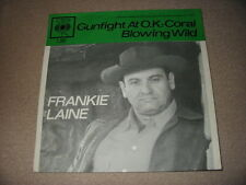 1 Originalcover Frankie Lane Gunfight At O.K.-Coral Holland ONLY COVER TOP 1961