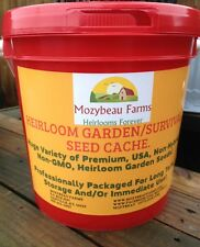300,000 Garden/Survival SEED CACHE! Non-GMO, HEIRLOOM, USA Vegetable SEEDS!