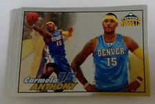 (27x) 2009-10 Panini NBA Stickers * CARMELO ANTHONY #205 FOIL STICKER LOT
