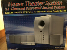 Regent Ht-2004 Home Theater 5 Speaker Surround System Still In Box!
