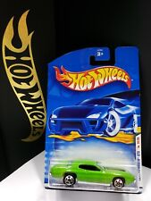 2001 HOT WHEELS FIRST EDITIONS GREEN 1971 PLYMOUTH GTX - A18
