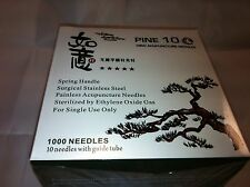 "RUYI  #34x1.5""(0.22mmx40mm) bulk acupuncture needle 1000 pcs"