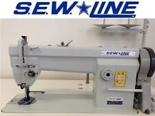 Sewline Sl-106 New Walking Foot w/110 Volt Hd Motor Industrial Sewing Machine