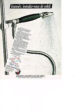 PUBLICITE ADVERTISING  1980   JOANNES   chauffe- eau solaire