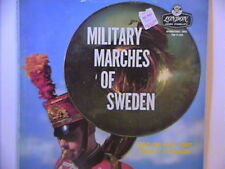 MILITARY MARCHES OF SWEDEN ARMY & NAVY CORPS BANDS LP