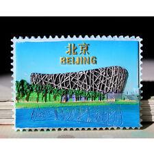 SOUVENIR 3D RESIN  FRIDGE MAGNET -------  Bird's Nest  Beijing , China