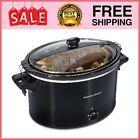 Crock Pot Slow Cooker Large Lid Lock Dishwasher Safe Kitchen Home Cooking 10 Qt photo