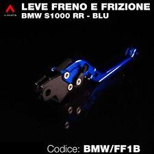 Kit leva frizione e leva freno nere e blu per BMW S1000 RR