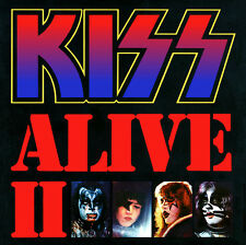 KISS (ALIVE II - REMASTERED 2CD SET SEALED + FREE POST)