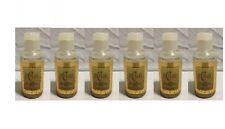 Lot of 6 DiCesare Gold Shimmer Glitter Hair Spray ~ 4 oz each