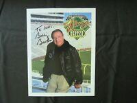 """Florida State Seminoles"" Bobby Bowden Signed 8X10 Color Photo Todd Mueller COA"