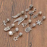 12 Pcs Alloy Dreadlock Hair Beads Tibetan Decoration Hair Braid Accessories Gift