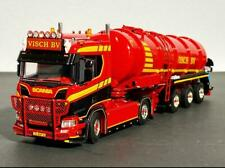 "Scania R normal CR20N 4x2 tank trailer vacuum ""Visch"" WSI truck model 01-3109"