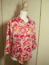 tommy hilfiger paisley 1960s style cotton shirt  as bought