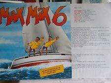 "MAX MIX 6 - KYLIE MINOGUE / KURTIS BLOW / MEL & KIM - SPANISH 12"" PIC/SLV VINYL"