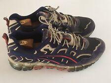 🧨 ASICS GEL-NANDI 360 Trail Shoes - Black/Peacoat 1021A190 Mens US 11 1/2 EU 46