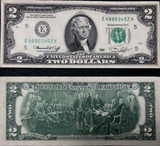 $2 DOLLAR BILL TWO DOLLAR BILL MAGNIFICENT! UNCIRCULATED, NEW AND CRISP! 1976