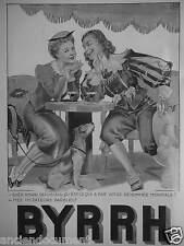 PUBLICITÉ 1936 BYRRH DEPUIS 1866 - ADVERTISING