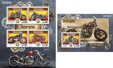 Motorcycles Motorräder Harley Davidson BMW Transport Sierra Leone MNH stamp set