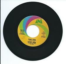 "1970 ELTON JOHN ""YOUR SONG"" 45 rpm 7"""