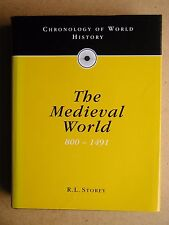 Chronology of the Medieval World 800 to 1491. By R L Storey. 1994 HB in DJ