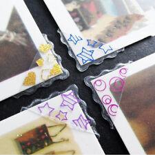 5Pcs Auto-Adhesivo Pegatina de esquina foto marco Artesanía Scrapbook álbum esquinas
