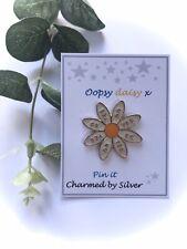 Gorgeous Daisy Enamel Pin - Oopsy Daisy