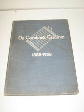 On Carolina's Gridiron 1888-1936 A History of Football at the UNC by Barrier